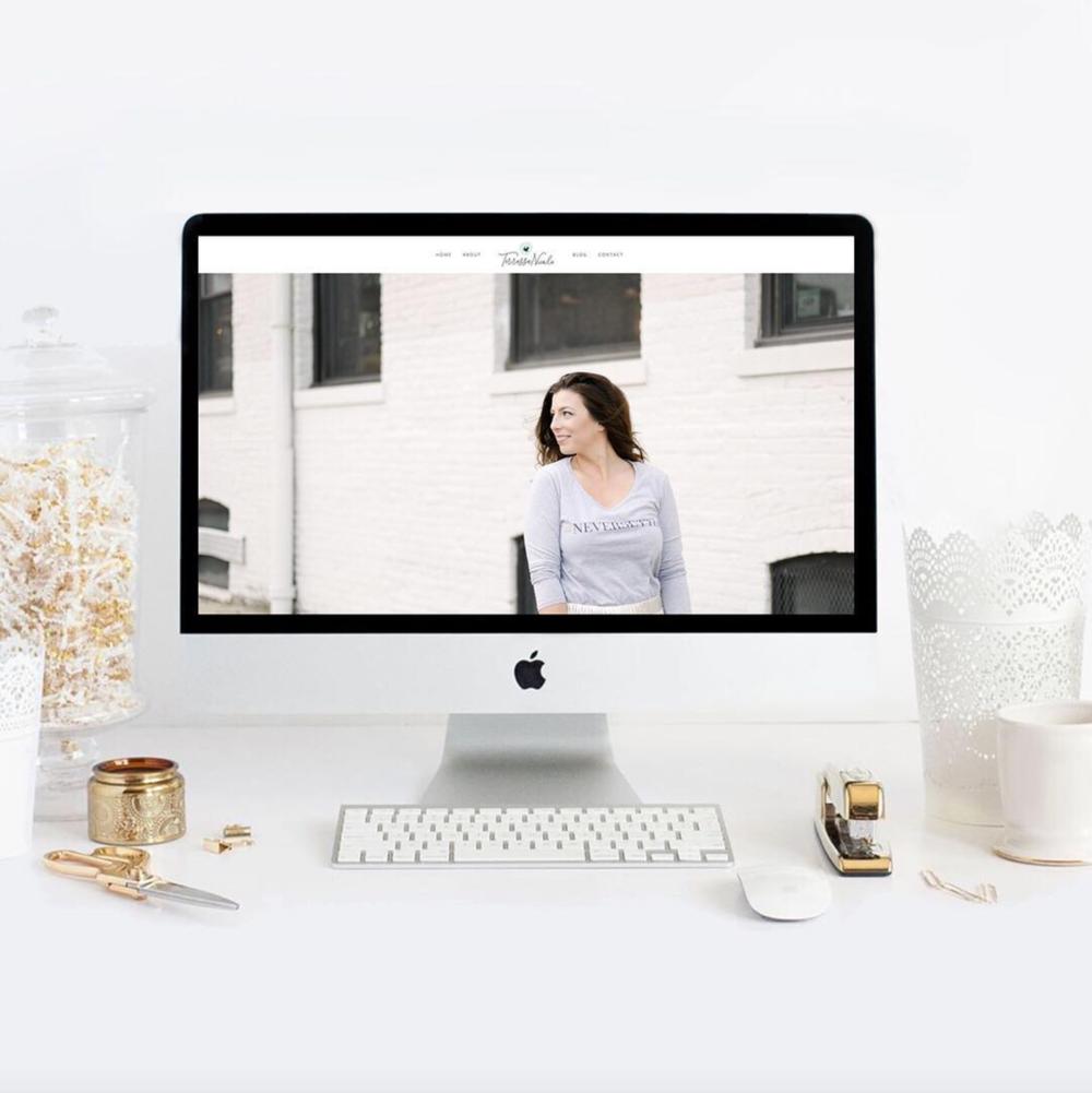 terressa nicole the busy bee design studio branding website