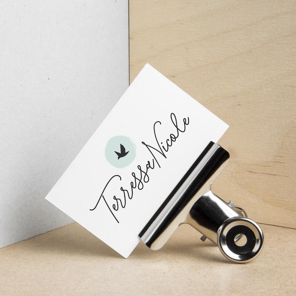 terressa nicole the busy bee design studio branding business cards