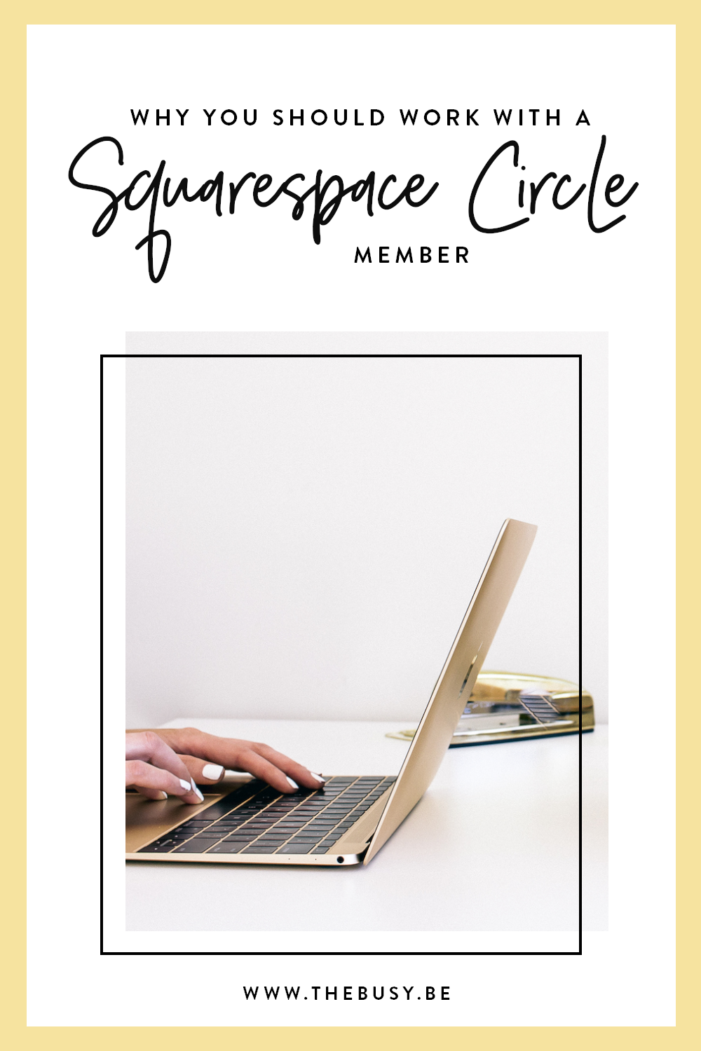 The Busy Bee Megan Baylerian Squarespace Circle Member