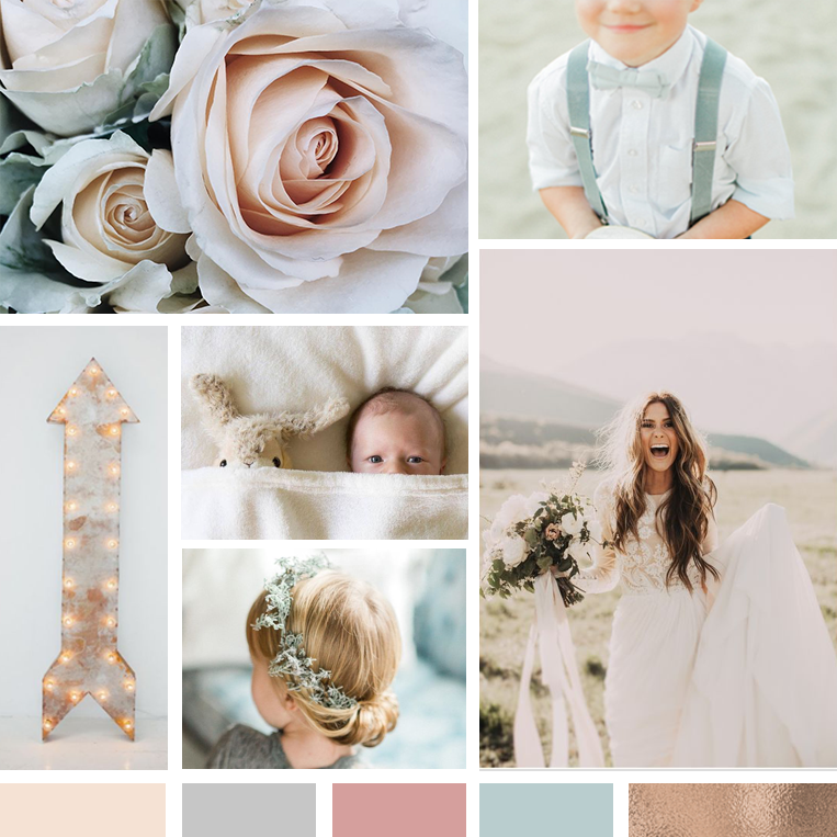 The Busy Bee Megan Baylerian Squarespace Website Holly Snyder Photography Moodboard