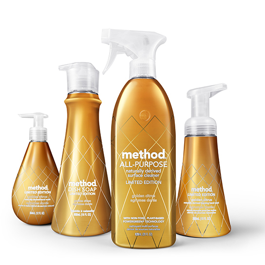 Method Products - All of method's products are my jam, and I'm really digging the new limited edition collection. The new metallic finishes almost make these soaps and cleaning sprays a home accessory! Score.
