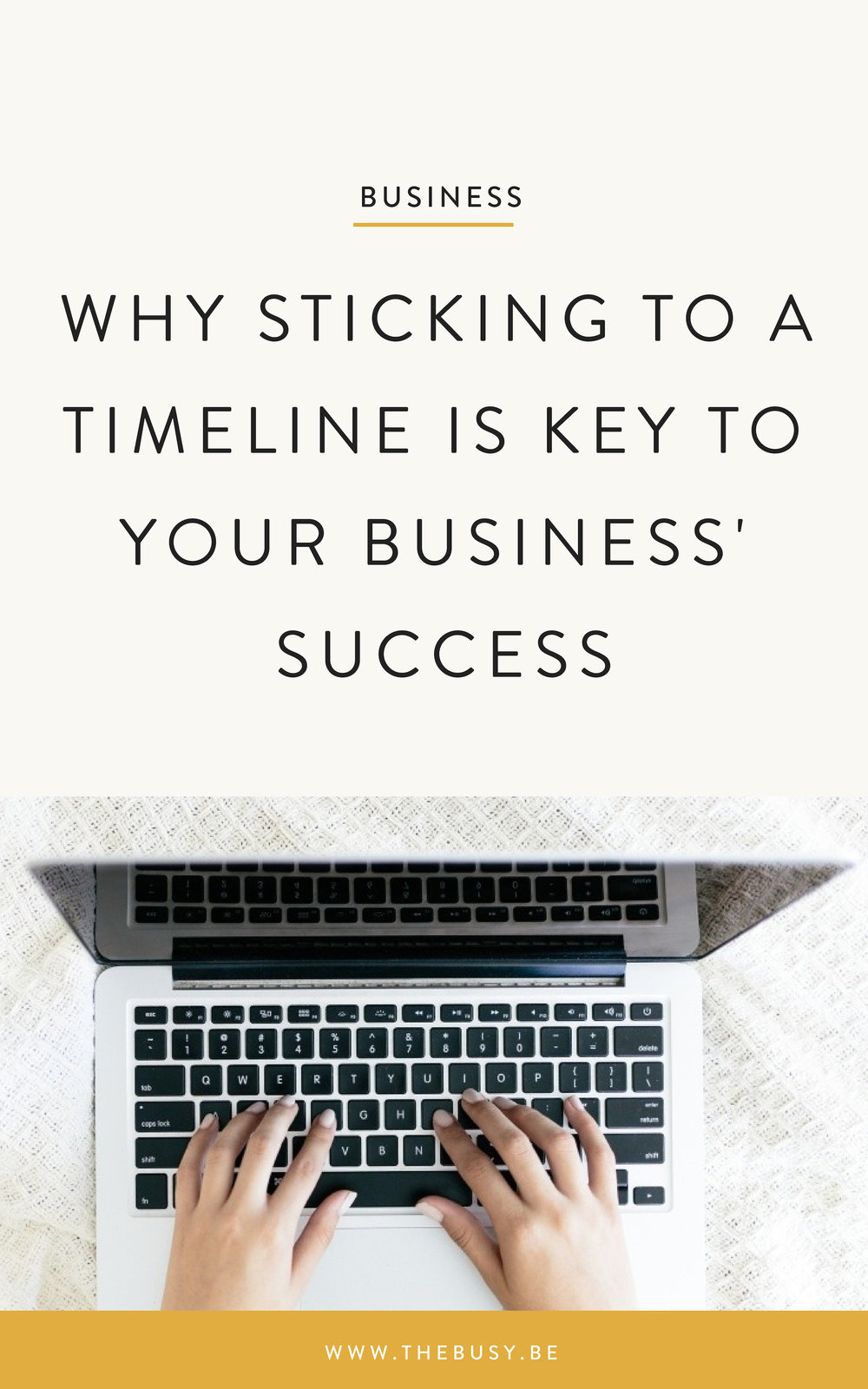 The Busy Bee Squarespace Web Design Why Sticking To a Timeline Is Key To Your Business' Success