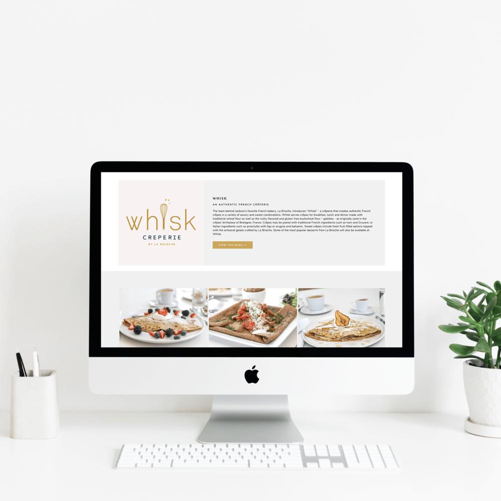 The Busy Bee Portfolio Custom Squarespace Website Cultivation Food Hall Desktop