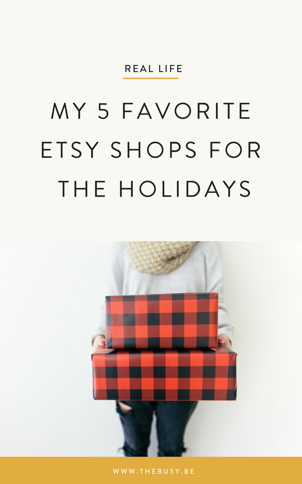 My 5 Favorite Etsy Shops For the Holiday - The Busy Bee