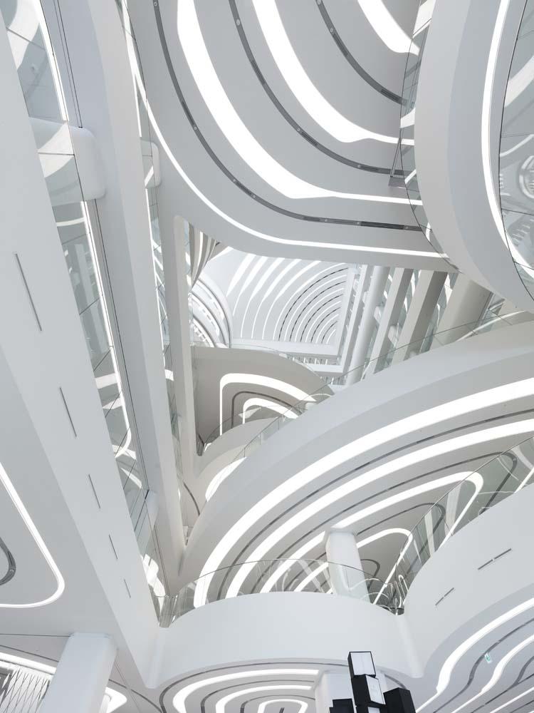 UNStudio :: Galleria Cheonan, Seoul, 2010