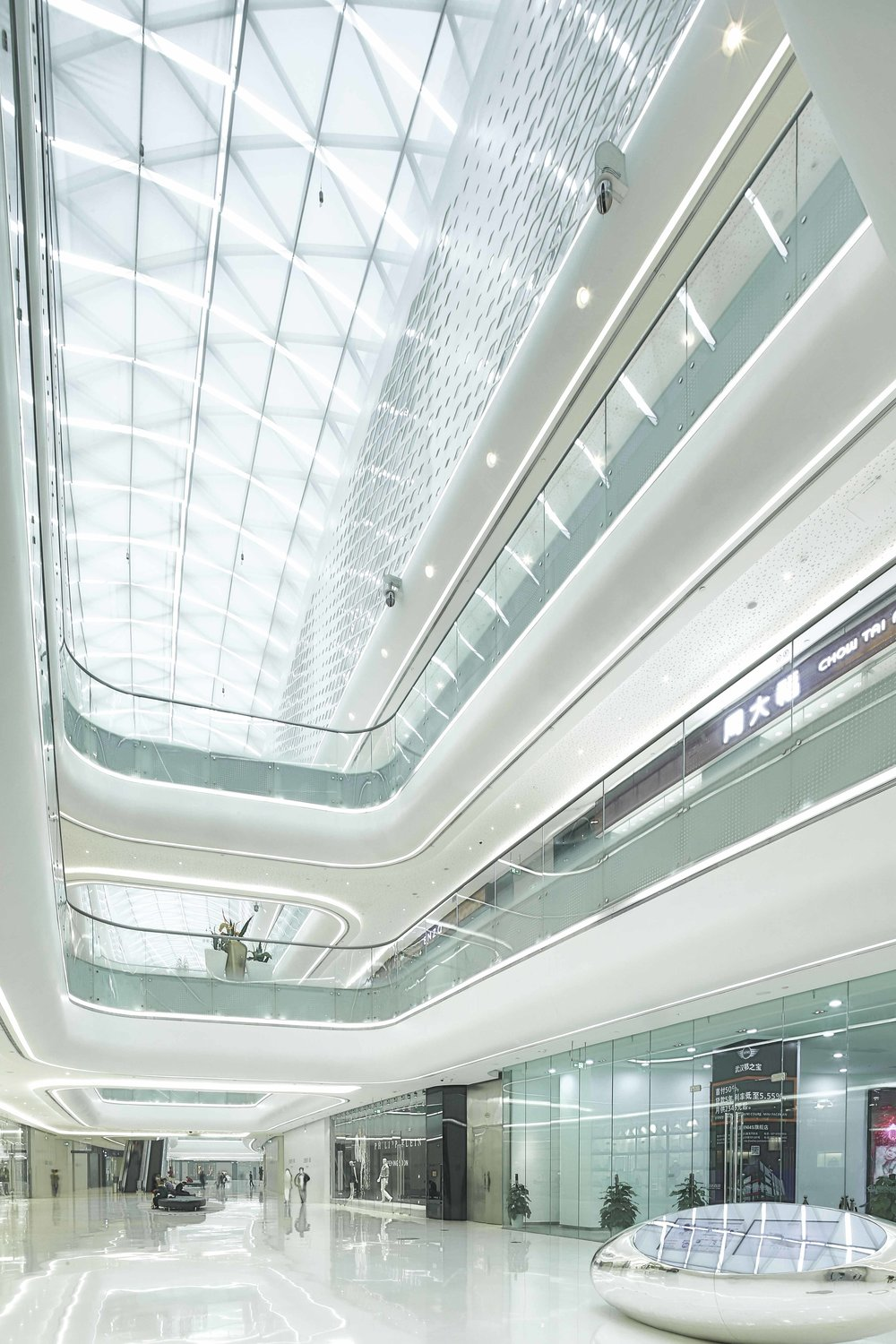 UNStudio :: Wuhan Shopping Mall, Wuhan, 2014