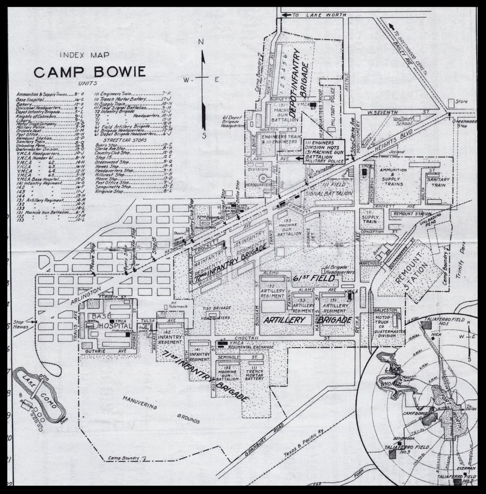 Camp Bowie Arial Image