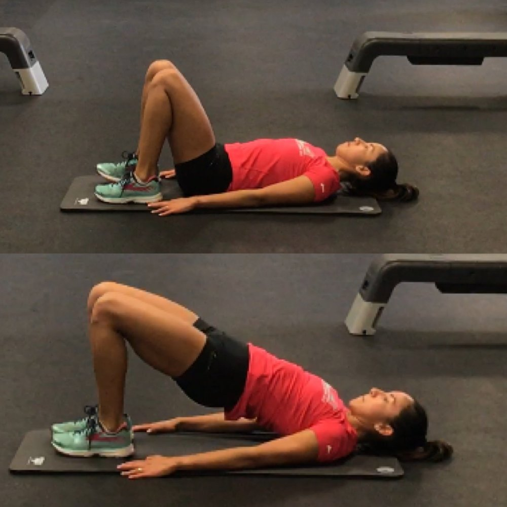 Supine Double Leg Bridge