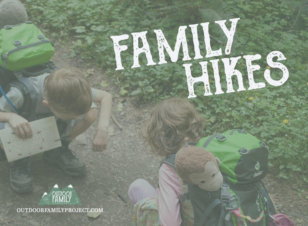 family hikes single parenting