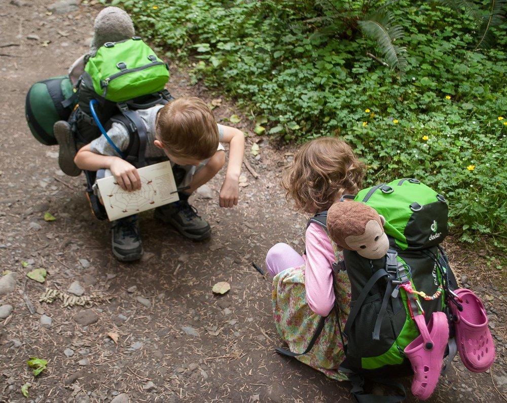 single parenting hiking adventure