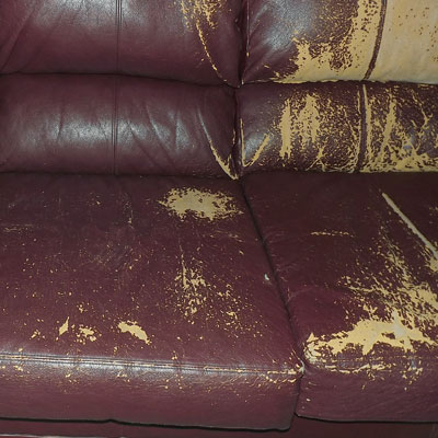 Bonded Leather - Why we do not carry bonded