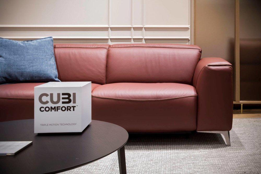 Natuzzi Sofa - Trionfo with CU3I Comfort!