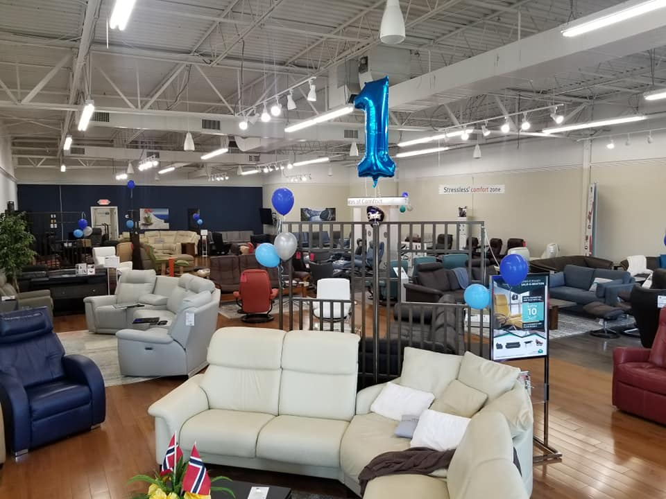 Our Large Stressless Showroom