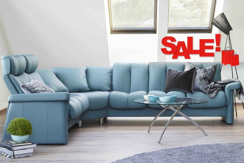 Stressless Legend Sectional - Stressless Sale