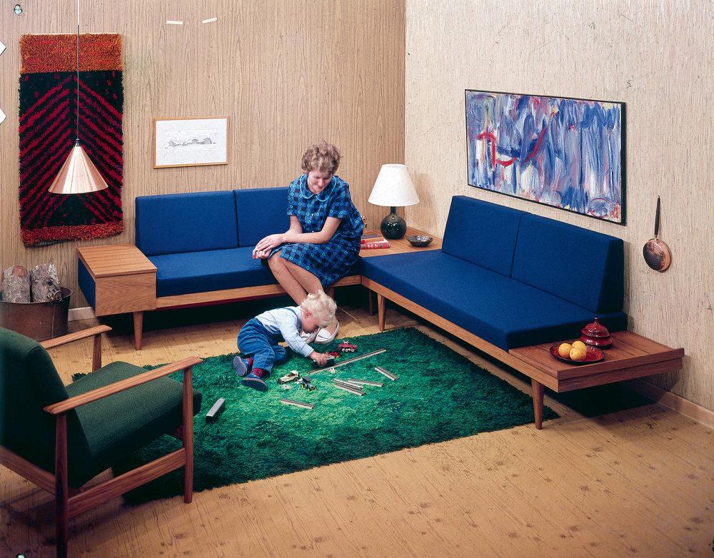 Early Ekornes Lounge Furniture