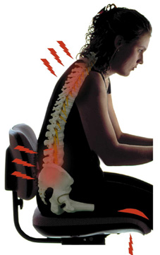 Ergonomic Chairs Important for Back Health