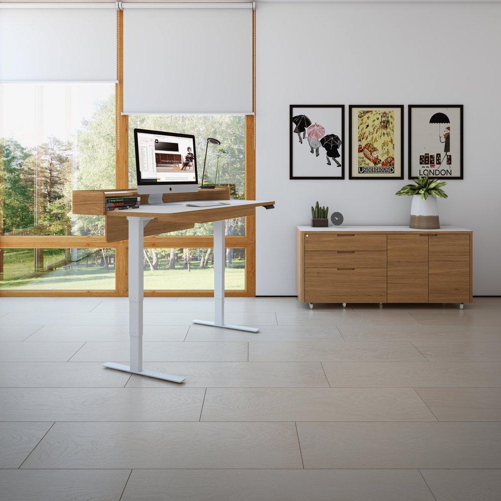 Height Adjustable desks add flexibility to your comfort and ergonomics