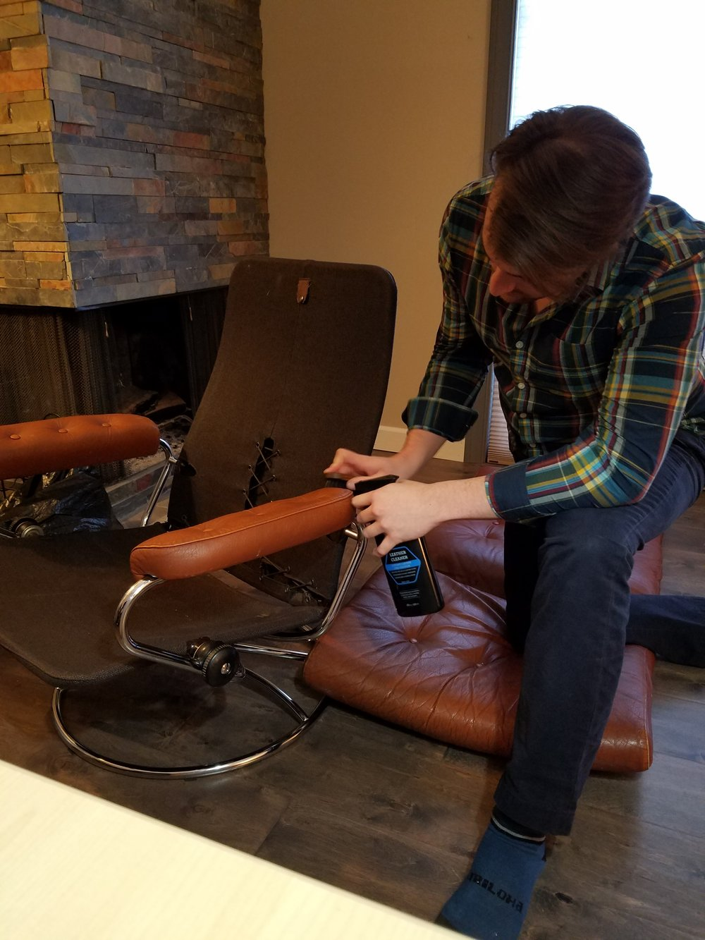 Full Restoration of a Vintage 1970's Stressless Recliner