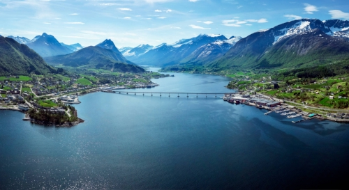 Stressless Factory in Norway Fjord