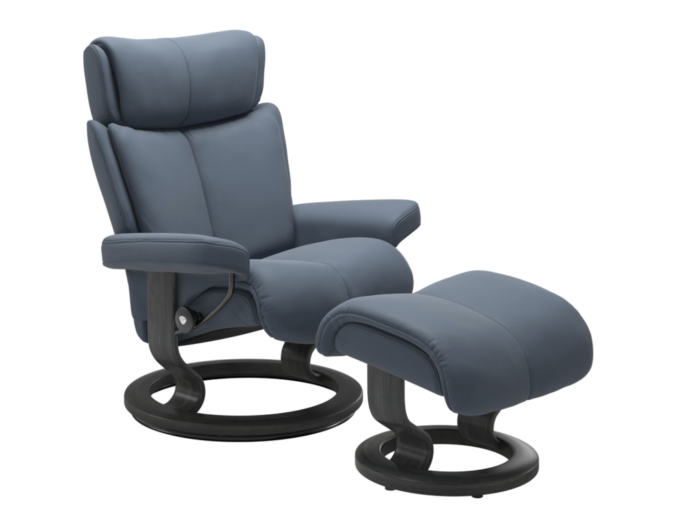 Stressless - Sparrow Blue - Classic