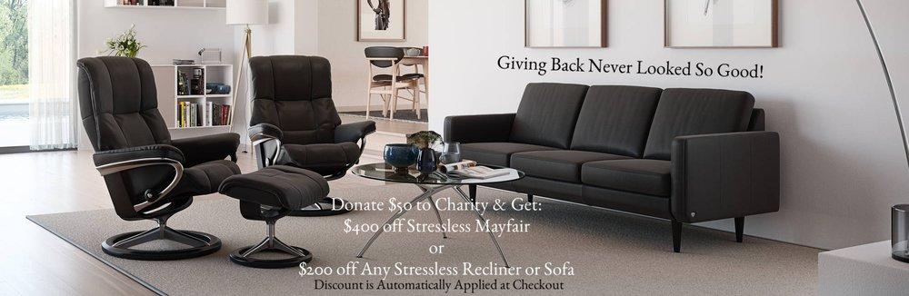 Stressless Mayfair Promotion
