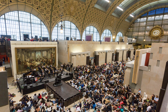 The Amazing Keystone Big Band au Musée d'Orsay - mai 2016