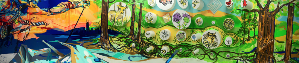 Finished piece for Chicago:Nurturing the Urban Jungle.