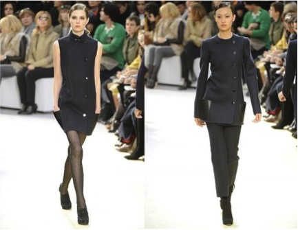 Celine FW2010 Collection – the collection that is considered by many to have brought minimalism back into mainstream fashion