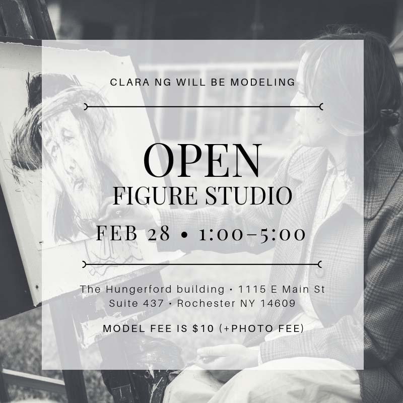Thursday Open Figure Studio — Hungerford Artisans