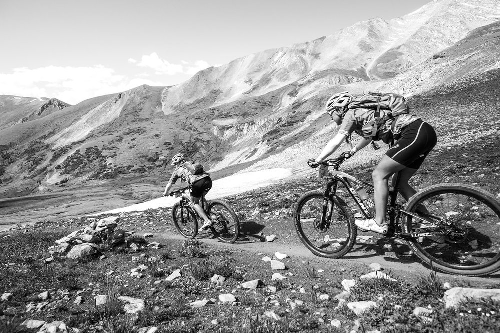 Crossing the Continental Divide into South Park from Breckenridge via French Pass. Image courtesy Eddie Clark Media.