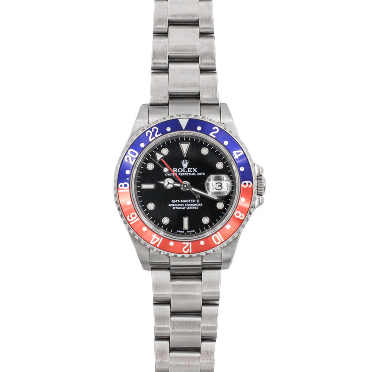 2001 Stainless Steel Black Dial - Rolex GMT-Master