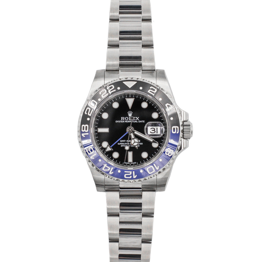 Batman 2017 Stainless Steel Black Dial - Rolex GMT-Master