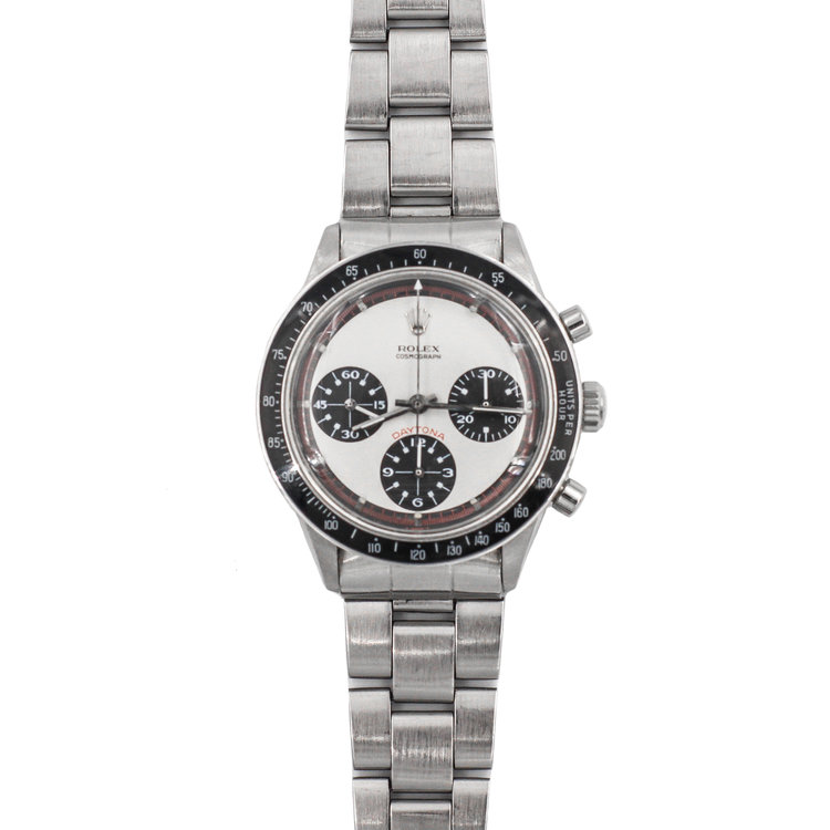 Paul Newman 1976 Stainless Steel White Dial - Rolex Daytona 6241