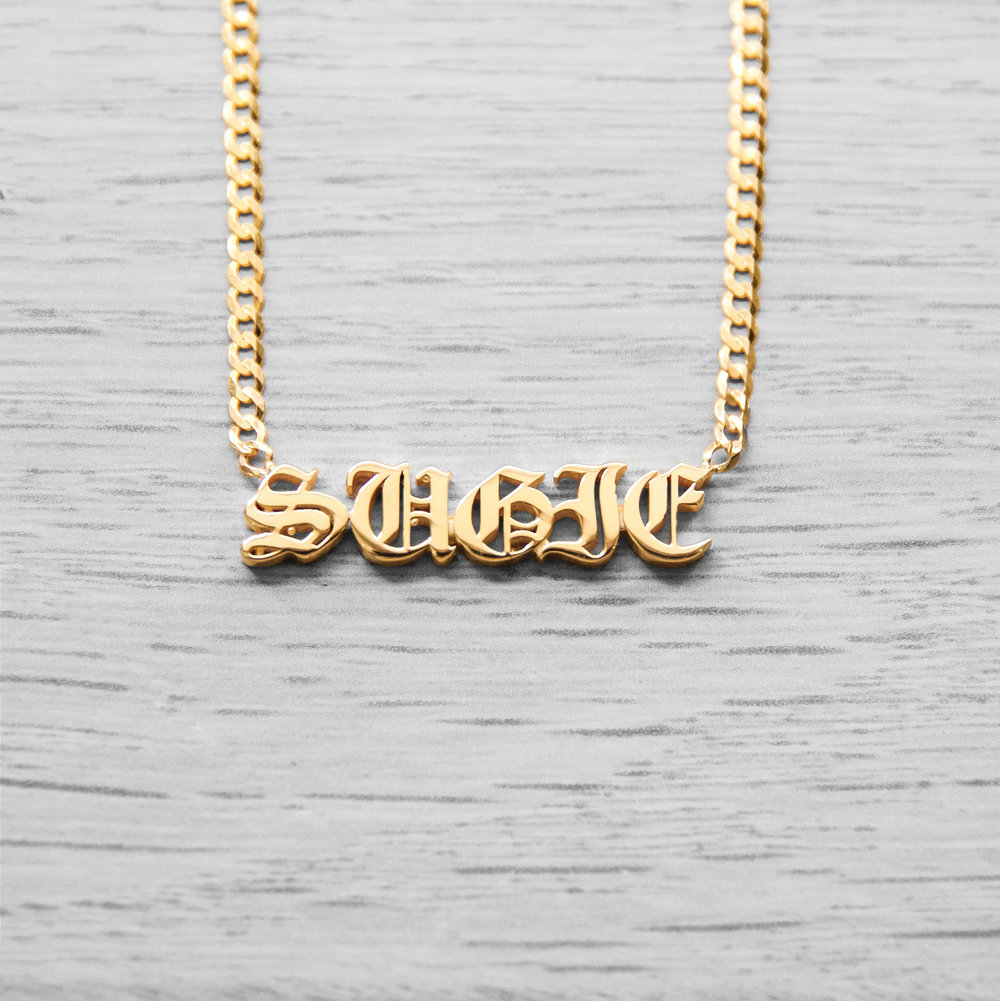 Nameplate Necklace_Shayan Afshar