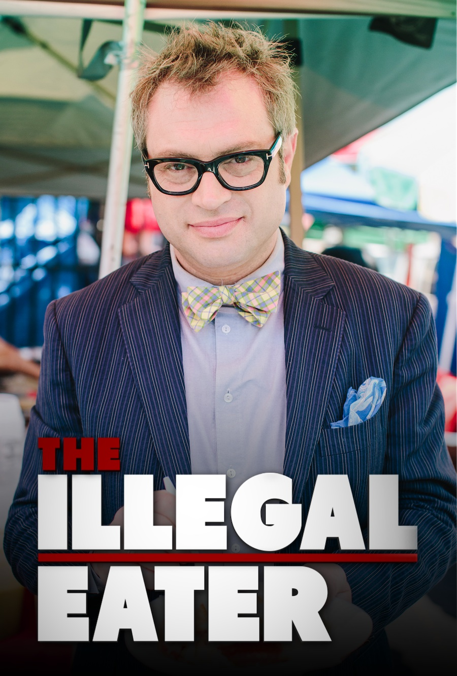 The star of The Illegal Eater, Steven Page