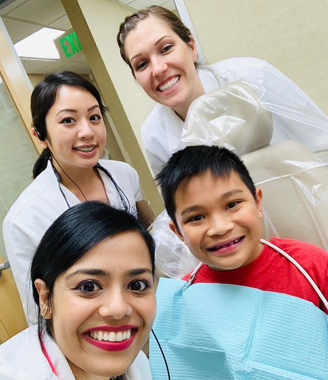❤️'ing those cavity free smiles 🥰 Call today (408) 247-8080 to schedule your next appointment and be cavity free 👍