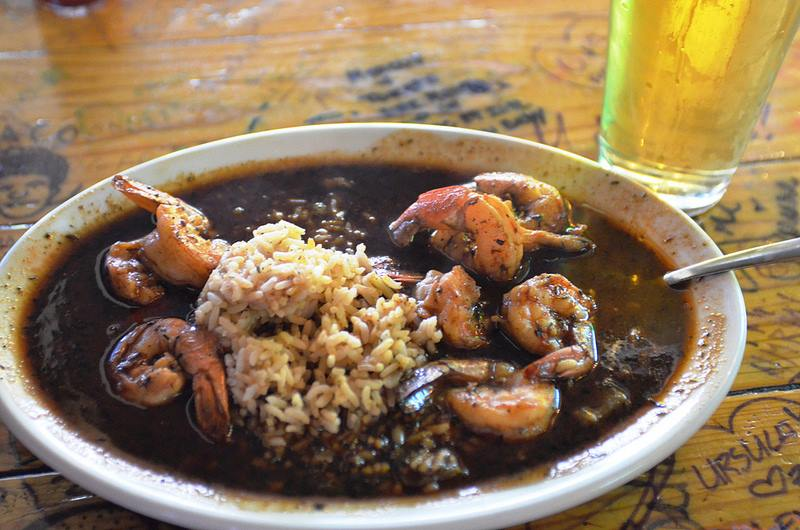 Our delicious Louisiana BBQ Shrimp!