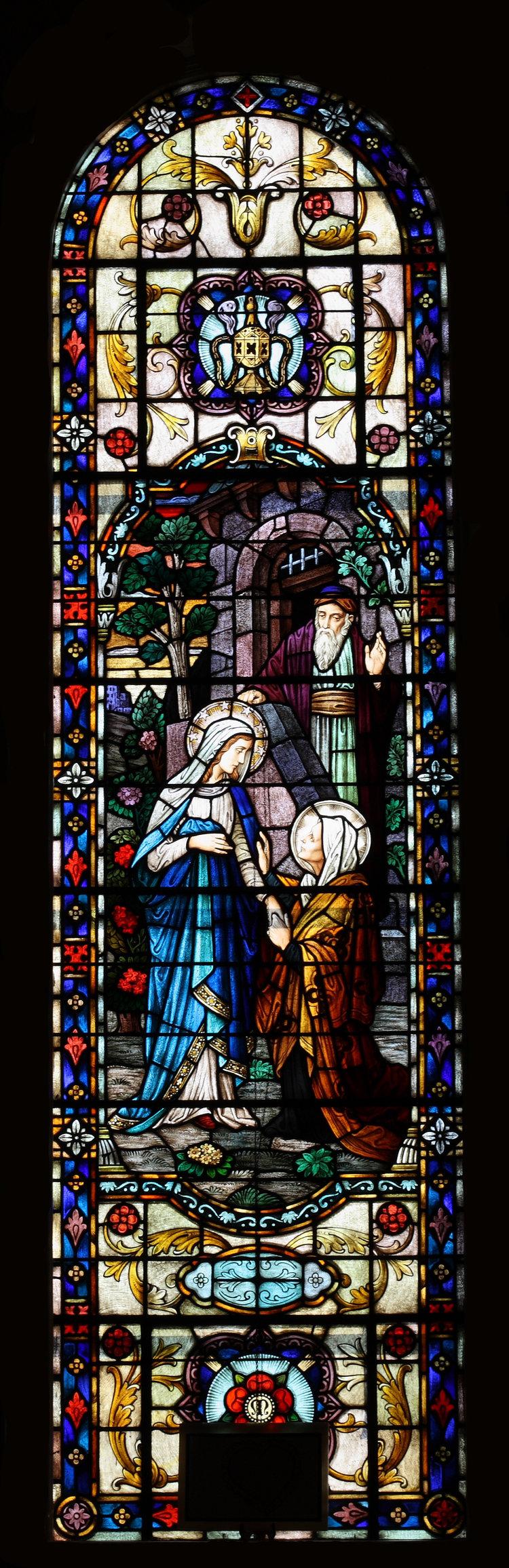 Stained Glass Windows St Vincent De Paul Catholic Church