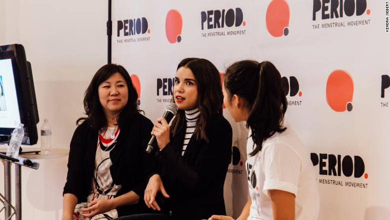 """It was an end befitting the first Period Con: a congresswoman and a YouTube star shared stories about the first time they menstruated."""