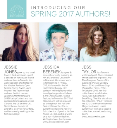 Spring Authors for Desert Pets Press Announced - 100% Jess