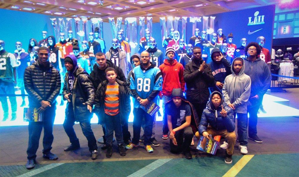 New Lens Urban Mentoring Society Super Bowl Experience #NewLensSociety 2.JPG