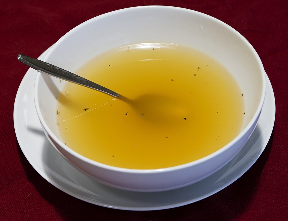 Clear Broth for Colonoscopy