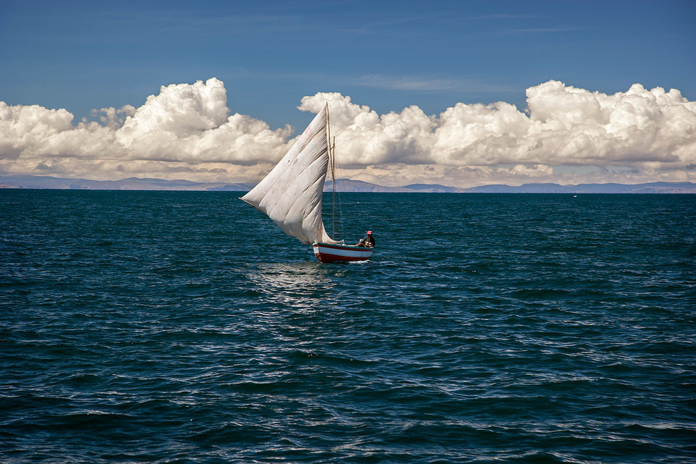 Boat - Lake Titicaca