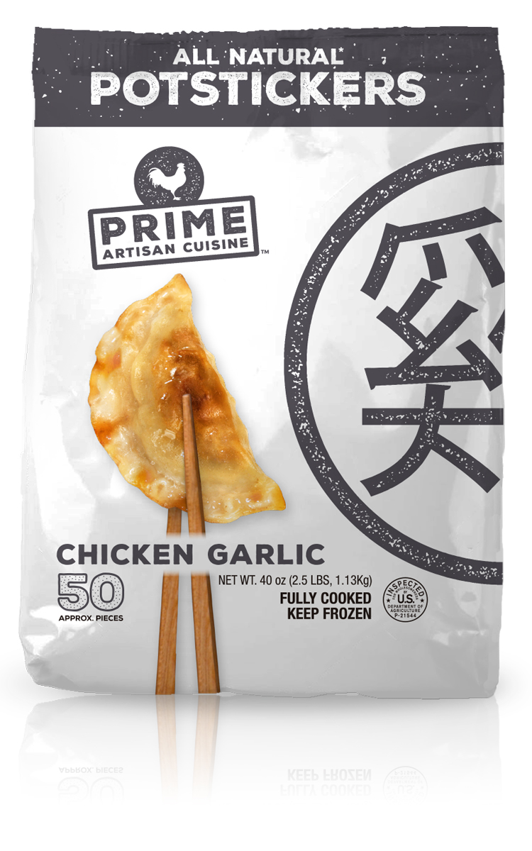 PAC Products - Prime Potstickers - Garlic
