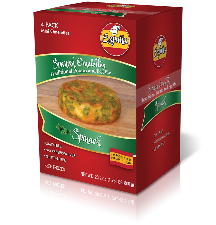 PAC Products - Espana Boxes - Spinach