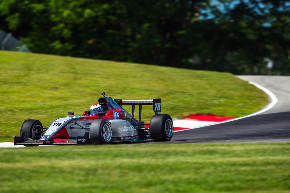 "Lexington, Ohio, July 26, 2018 – Kris Wright comes to the Mid-Ohio Sports Car Course prepared to battle to the finish in the doubleheader of the  Pro Mazda Series presented by Cooper Tires this race weekend, July 26-29.  Wright tested at the 2.258-mile, 13-turn road course in Lexington, Ohio last week and feels very positive about competing on his favorite track, which is just two-and-a-half hours from his Pittsburgh, Penn. home.   ""I'm really glad to be racing this weekend at Mid-Ohio because it's my favorite track and pretty much my home track on the Pro Mazda race circuit,"" said the 24-year-old Wright. ""We had a very good test here last week and I'm comfortable with our set-up and the track itself. Many tracks have been new to me this year so I'm all the more at home this weekend at Mid-Ohio.""    ""We have a big group of family, friends and supporters coming out this weekend and that's always motivating,"" added Wright. ""You want to race well in front of your friends and fans so we're hoping to have some good racing and success. A podium finish would sure be nice and that's what I'm striving for.""   Wright's most recent two races were across the border in Canada. He competed in the IMSA Prototype Challenge series Presented by Mazda race at the Canadian Tire Motorsport Park on July 8th. He shared his Extreme Speed Motorsports Ligier JS P3 No. 30 Le Mans Prototype 3 (LMP3) with Frenchman Yann Clairay to a second-place finish.  He then went on to compete the following weekend in the Pro Mazda series on the streets of Toronto, where he collected a top five and a seventh-place finish in the doubleheader.  The schedule for this weekend includes practice Friday morning, July 27, at 10:20-10:45 a.m., followed by qualifying for Race 1 starting line-up at 2:00-2:20 p.m. Saturday, July 28 will feature qualifying for Race 2 lineup 11:00-11:20 a.m. and Race 1 at 4:10 p.m. for 40-minutes. The final Race 2 will be on Sunday morning from 11:05-11:55 a.m. All times are Eastern.  Sponsors for this weekend's race are iHeartRadio, MasterTech, PPG and Wright Automotive.  More information is available on Wright's Web site at KrisWrightMotorsports.com. Fans can also follow him on  Facebook    and   Instagram  . You can watch the race on ProMazda.com, RoadtoIndy.com or the Road to Indy TV App."