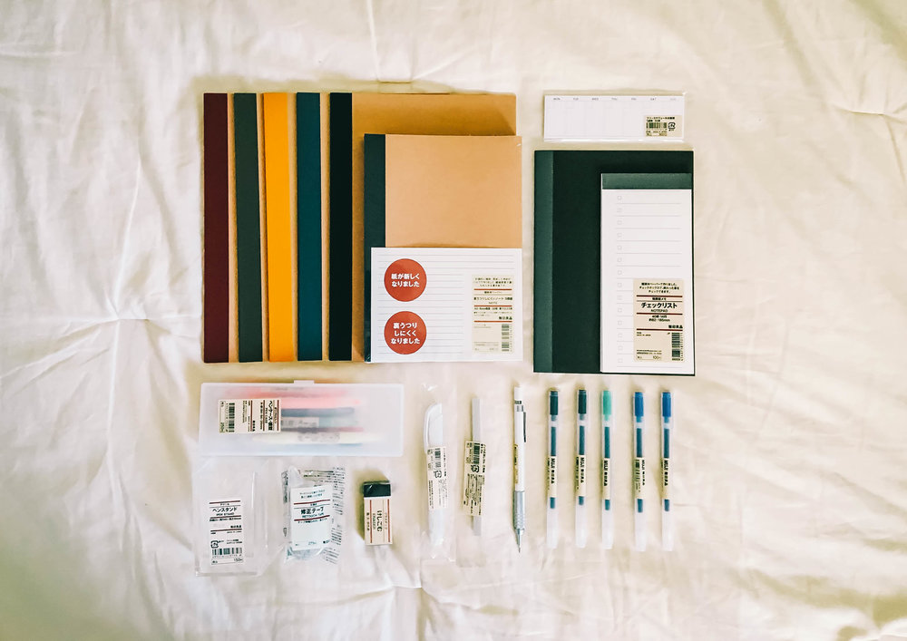 MUJI Stationery Main