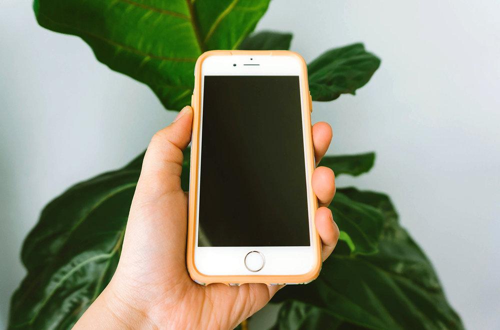 iPhone 6S Digital Declutter
