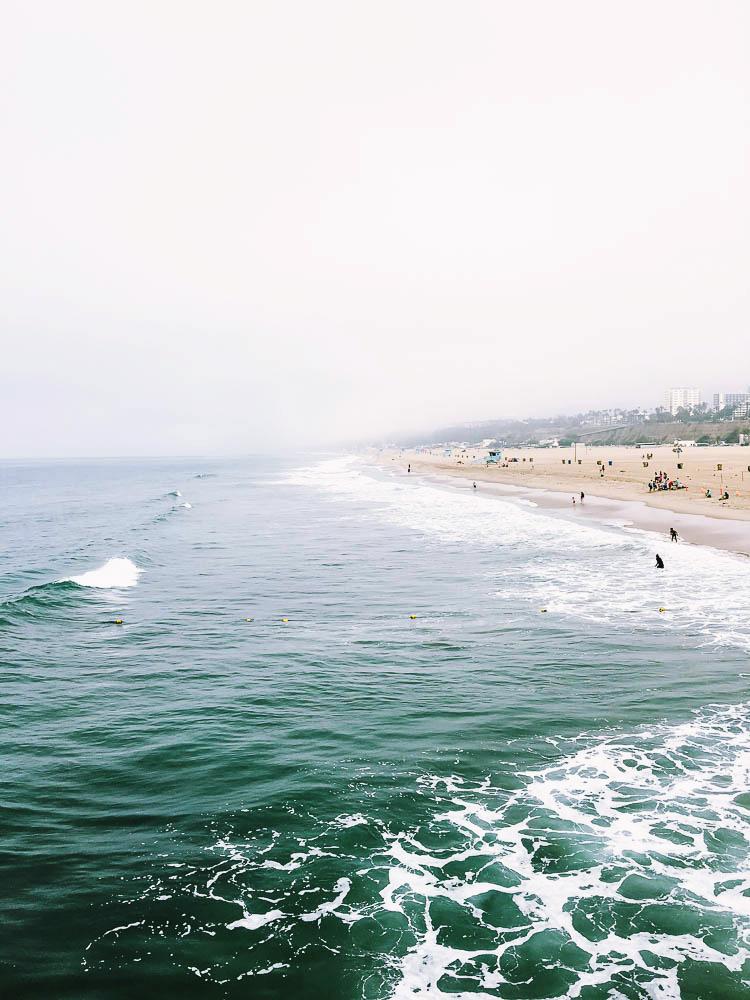 Santa Monica Beach Overcast