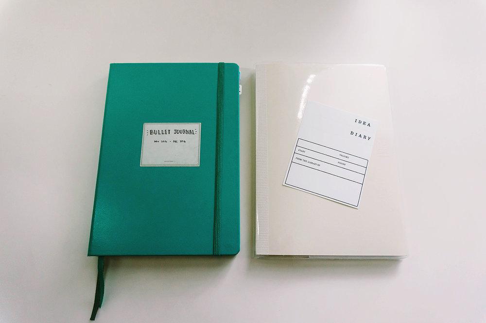 Bullet Journal Supplies Notebooks